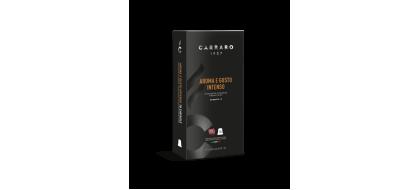 CARRARO, CAFFE' AROMA E GUSTO INTENSO, Nespresso kapsulės, 10 vnt.