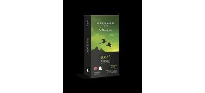 CARRARO, CAFFE'  BRASILE PREMIUM, Nespresso kapsulės, 10 vnt.