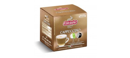 CARRARO, CAFFE' CAPPUCCINO, Dolce Gusto kapsulės, 16 vnt.