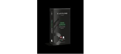 CARRARO, CAFFE' CREMA ESPRESSO, Nespresso kapsulės, 10 vnt.