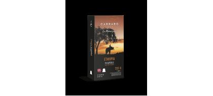 CARRARO, CAFFE'  ETHIOPIA, Nespresso kapsulės, 10 vnt.
