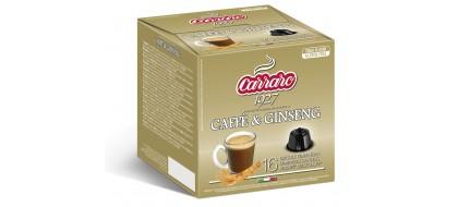 CARRARO, CAFFE' GINSENG, Dolce Gusto kapsulės, 16 vnt.