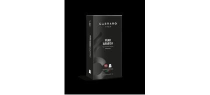 CARRARO, CAFFE' PURO ARABICA, Nespresso kapsulės, 10 vnt.