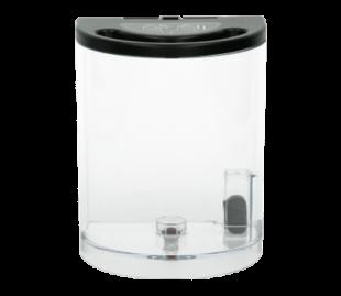 Leidžia bet kada papildyti garo generatorių, jo neišjungus. Taip pat galima pritvirtinti nukalkinimo filtrą, kuris filtruoja vandentiekio vandenį prieš naudodamas jį lyginimui.