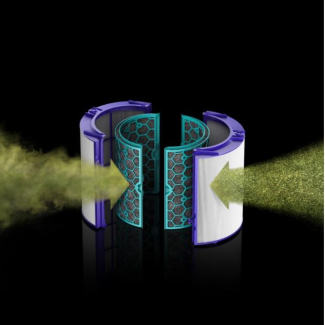 DYSON PURE Hot+Cool termoventiliatorius, oro valytuvas