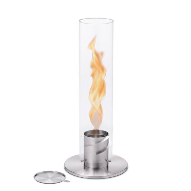HOFATS  SPIN žvakė 120, sidabrinė