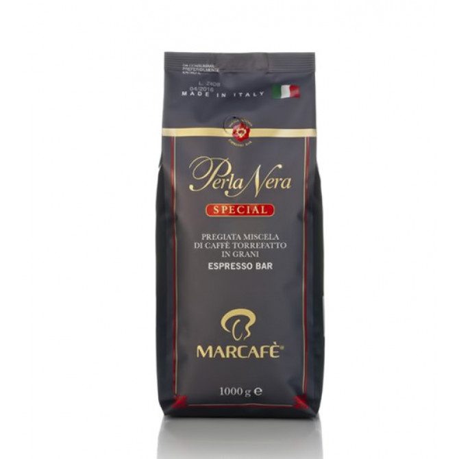 MARCAFE, PERLA NERA SPECIAL, kavos pupelės