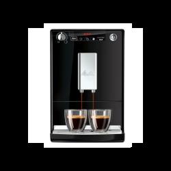 MELITTA SOLO automatinis kavos aparatas, juoda-sidabro
