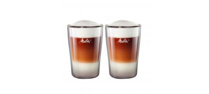 MELITTA dvigubo stiklo puodeliai, 300 ml