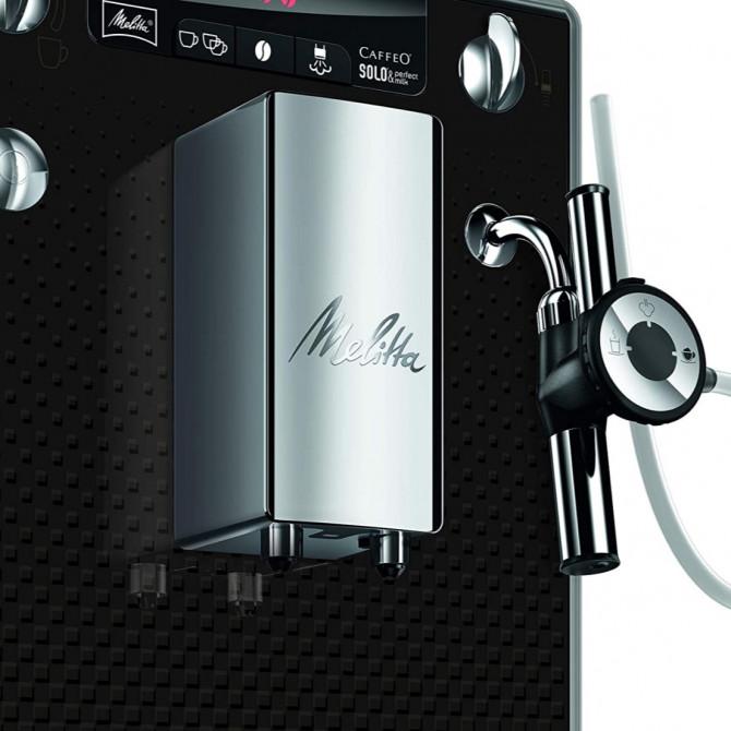 MELITTA SOLO&PERFECT MILK automatinis kavos aparatas, antracitas