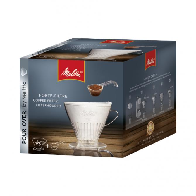 MELITTA kavos filtro laikiklis, skaidrus,  1x6®