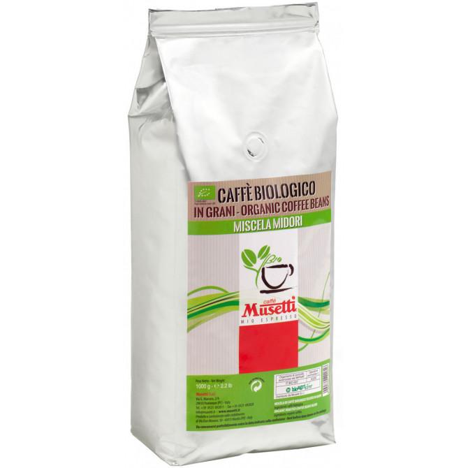 MUSETTI, MIDORI ORGANIC, kavos pupelės