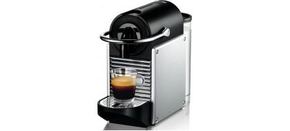 NESPRESSO Pixie D61 kapsulinis kavos aparatas, sidabrine