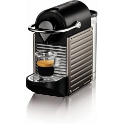 NESPRESSO Pixie kapsulinis kavos aparatas, titano