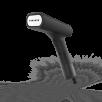 SteamOne EUDTC120B rankinis garintuvas, juodas